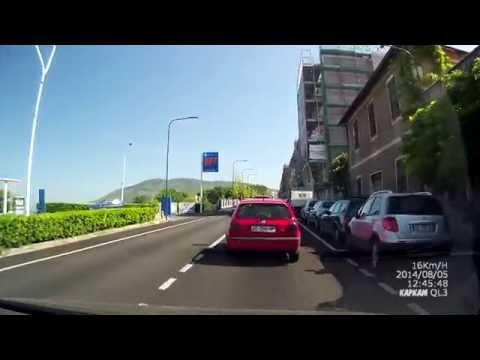 Дороги Италии Рим- E80- Тиволи