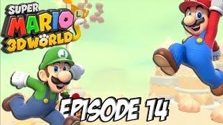 Super Mario 3D World: Let's Fun | Du gâteau et des couronnes ! | Episode 14 Thumbnail