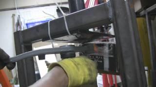 Homemade Press , Pressing In Control Arm Bushings
