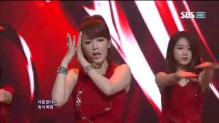티아라 DAY BY DAY SBS Inkigayo 인기가요 20120715