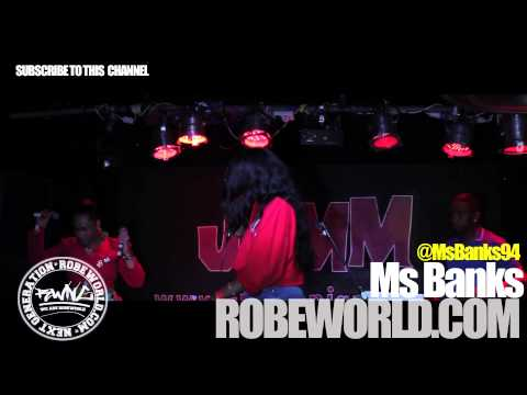#RWNG - MS BANKS @LADIES FIRST (BRIXTON JAM) @MsBanks94