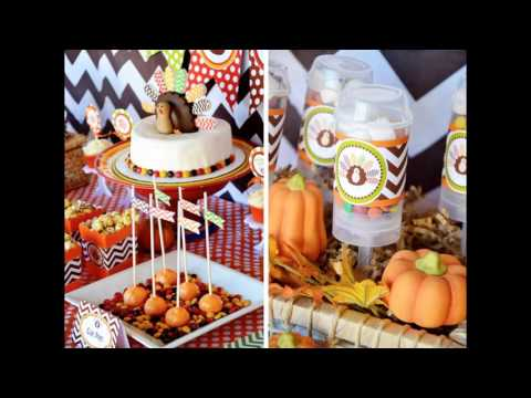 Fall themed party decorations at home ideas