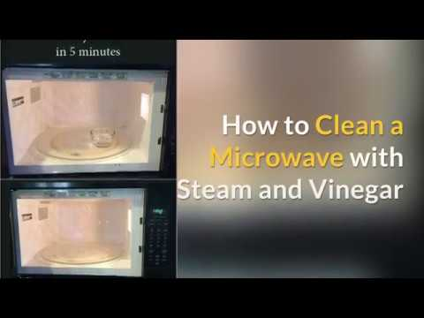 Easy Microwave Cleaning: How to Clean Your Microwave with Steam and Vinegar