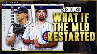 WHAT IF THE MLB HAD A FANTASY DRAFT & RESTARTED?! | MLB the Show 20