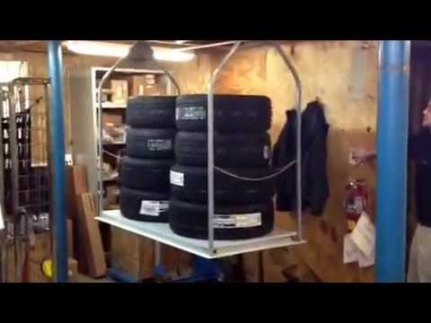 Commercial Business Lift Attic Storage Lift For