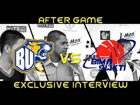 Exclusive After Game Interview  BBU Vs Bimasakti - Mangupura Cup 2014-2015