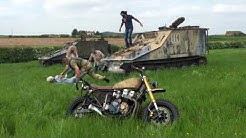 Daryl Dixon Motorcycle Replica Build - The Walking Dead Project - The Reveal