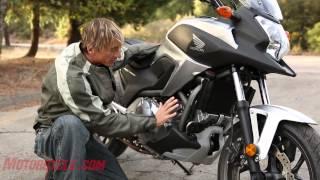 2012 Honda NC700X vs. Kawasaki Versys