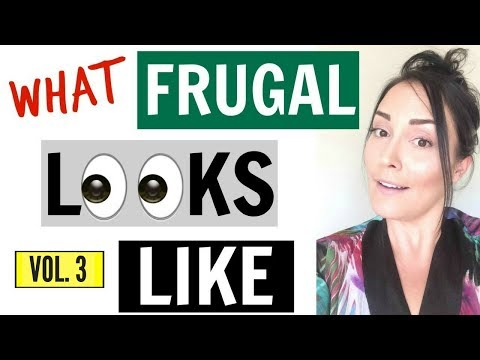 5 FRUGAL DAILY HABITS THAT SAVE A LOT OF MONEY ● HOW TO SAVE MONEY FAST ● FRUGAL LIVING ● MINIMALISM