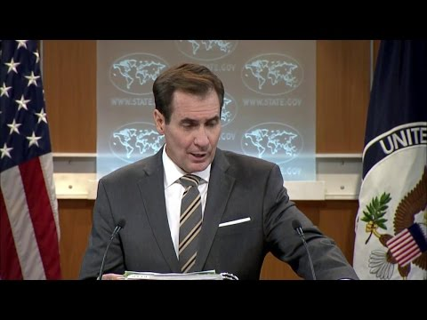 Spokesperson Kirby on Libyan Government of National Accord