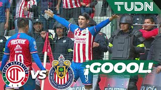 ¡Doblete de Puligoool! Para el tercero | Toluca 1 - 3 Guadalajara | Liga MX - AP 2019  - J 17 | TUDN