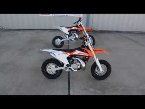 2016 KTM 50 SX and SX Mini Overview and Review - YouTube