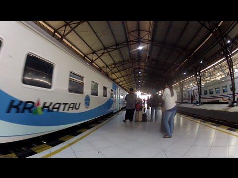 KA Ekonomi Krakatau (Check-In Mandiri): Purwokerto-Jakarta