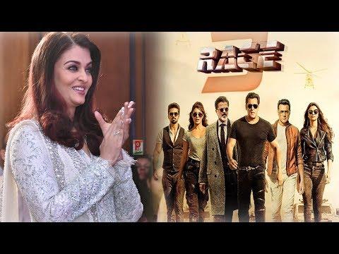 Aishwarya Rai Reaction ON Race 3 Trailer Salman khan thumbnail