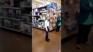 Gambar cover [FULL VIDEO] Walmart Kid Singing - Lovesick Blues By Hank Williams