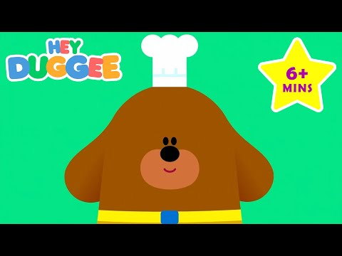 Thumbnail: Hey Duggee - Who's hungry? - Duggee's Best Bits