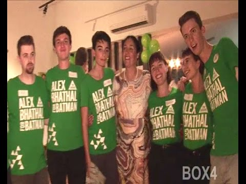 Election 2016: Greens Candidate Alex Bhathal's Campaign Launch