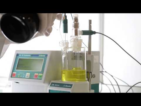 Scharlau Aquagent® Coulometric Karl Fischer Titration Using Cells With Diaphragm