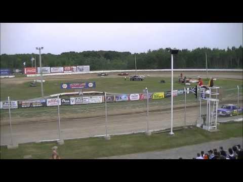 Granite City Speedway 7/1/12 Pure Stock Races