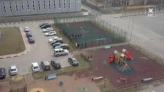 Сотрудники полиции остановили футбольный матч в одном из дворов Москворецкого квартала