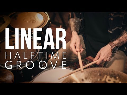 Linear Halftime Groove | Drum Lesson w/ Orlando Drummer