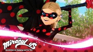 MIRACULOUS 🐞 Eine ebenbürtige Gegnerin - Super-Bösewichte 🐞 Geschichten von Ladybug und Cat Noir