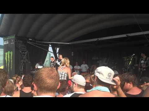 IntroUnspoken  The Ghost Inside Warped Tour 2012