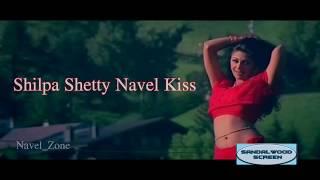 Shilpa Shetty Navel Kiss Complitation