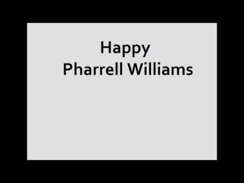 Happy Pharrell Williams Testo più Traduzione In Italiano