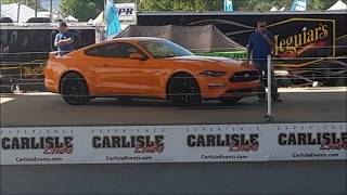 Sneek Preview of the 2018 Mustang at the 2017 Ford Nationals Carlisle PA