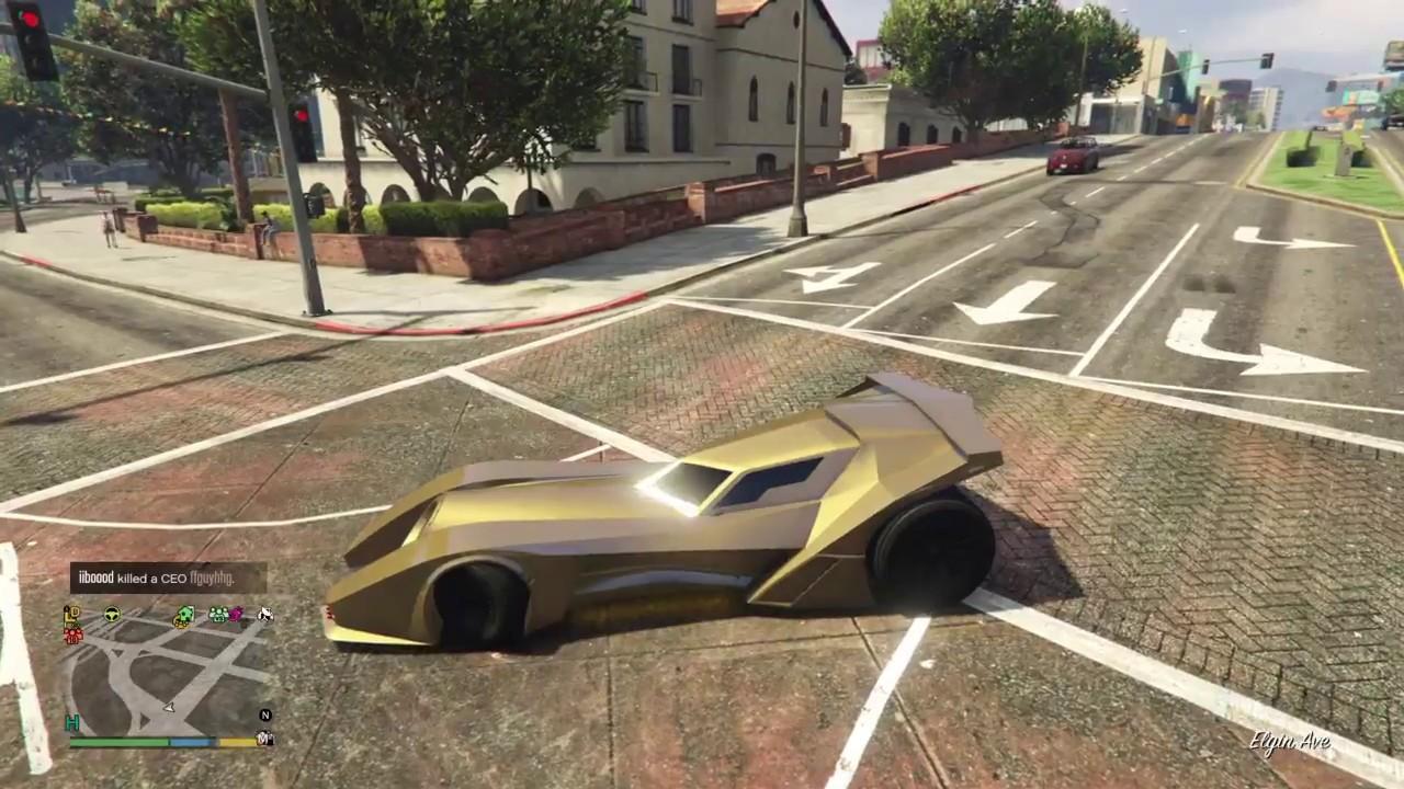 قراند 5 تعديل سيارة باتمان Youtube