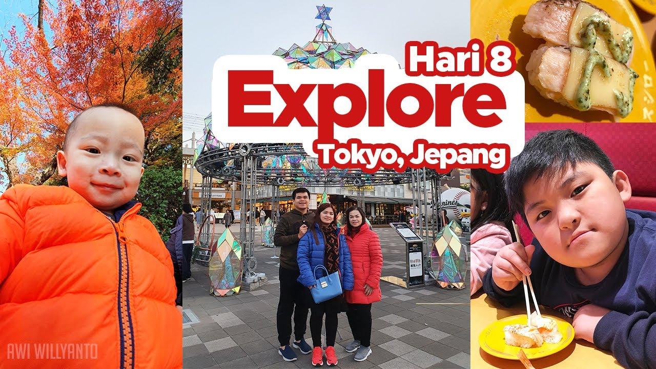 Explore Tokyo, Ueno Park, Sushi Natto, Mitsui Outlet Park, Jepang / Awi Willyanto