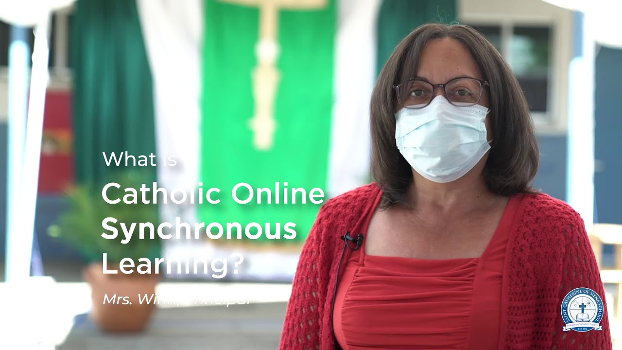 Catholic Online Synchronous Learning at St. Catherine of Siena School | Rialto, CA