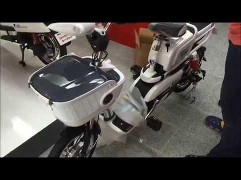 วิธีการประกอบรถจักรยานไฟฟ้าฮอนด้ารุ่น A6
