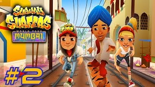 Subway Surfers: Mumbai - Sony Xperia Z2 Gameplay #2