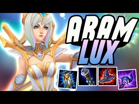 CARRYING WITH LUX IN ARAM!! - Lux ARAM - League of Legends