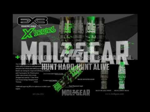 Mike Benjamin on the NEW 2013 X-SERIES Goose call by Molt Gear