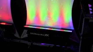 Chauvet DJ Colorstrip Mini FX DJ lighting effect at LDI 2013