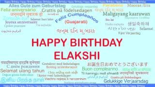 Elakshi   Languages Idiomas - Happy Birthday