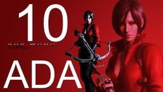 Resident Evil 6 walkthrough - part 10 HD ADA walkthrough gameplay RE6 Full ada walkthrough