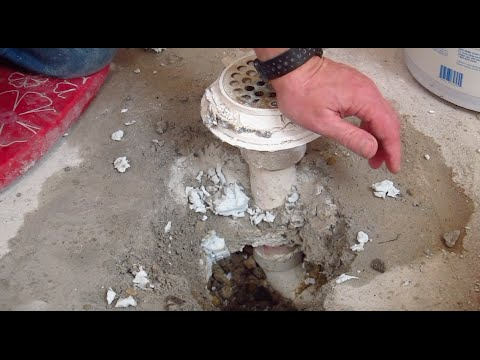 Basement Concrete Slab Removal Tips Youtube
