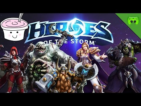 HEROES OF THE STORM # 23 - Der Pizza-Mann «» Let's Play HotS | Full HD