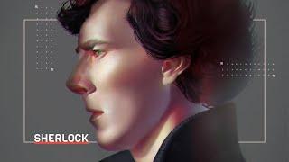 Sherlock Holmes from Sherlock (BBC) Speedpaint