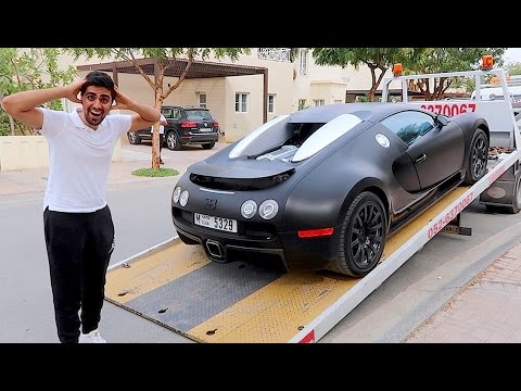 Taking Delivery of a Bugatti Veyron !!!