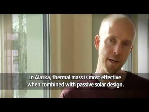 CCHRC: Thermal mass in Alaska