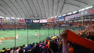 2018年4月14日 巨人vs広島 東京ドーム 1塁側1階席、前から13列目。 ヴィ...