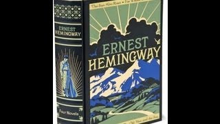 Hemingway39;s 4 Novels  A Bamp;N Leatherbound Classics Review
