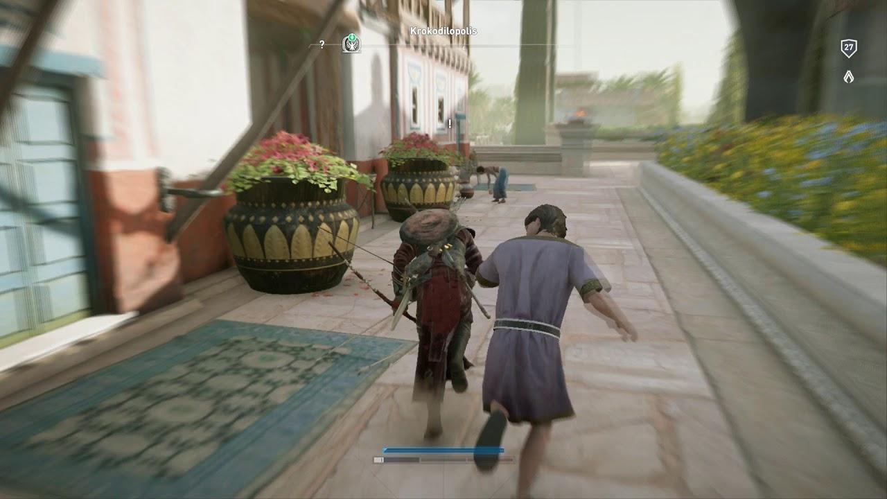 Assassin S Creed Origins Get Cedar Wood Upgrade Bracer Youtube