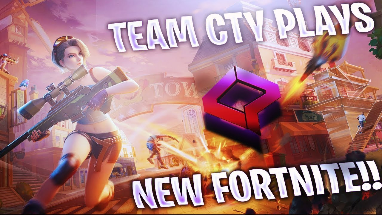 Team CTY Plays the Wins in the new Fortnite!