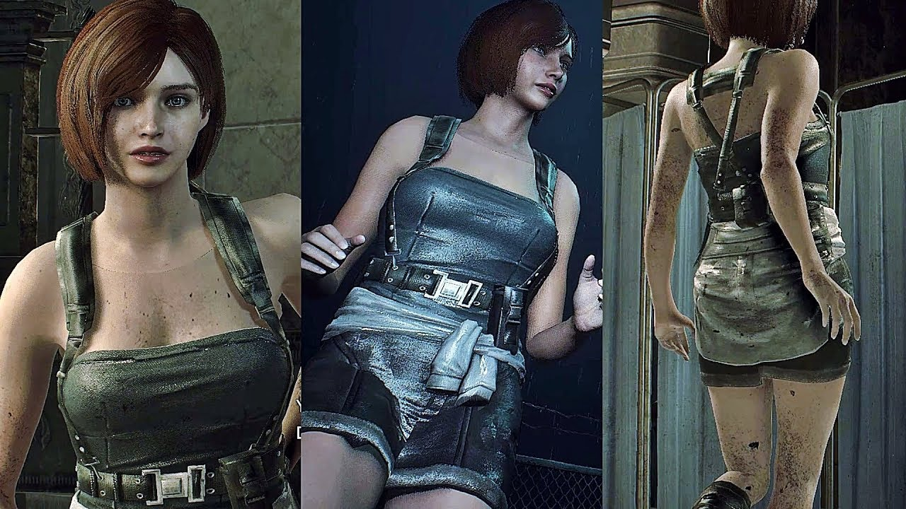 Resident Evil 2 Remake Play As Jill Valentine With Six Pack Leon